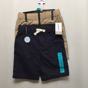 Carter Set of 2 Boys Shorts - Size 4T